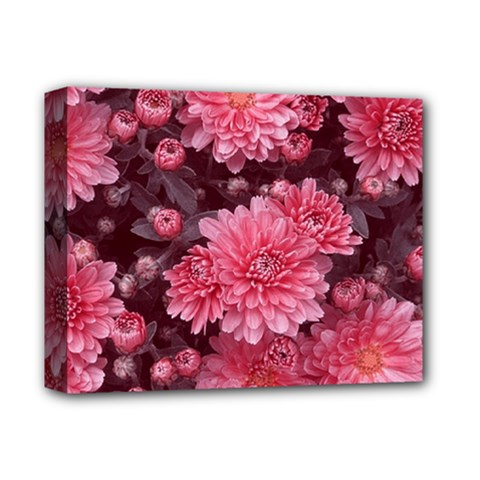 Awesome Flowers Red Deluxe Canvas 14  X 11  by MoreColorsinLife