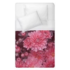 Awesome Flowers Red Duvet Cover Single Side (single Size) by MoreColorsinLife