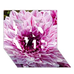 Wonderful Flowers Love 3d Greeting Card (7x5)  by MoreColorsinLife