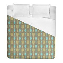 Spatula Spoon Pattern Duvet Cover Single Side (twin Size) by creativemom