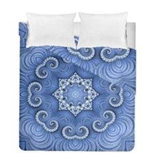 Awesome Kaleido 07 Blue Duvet Cover (twin Size) by MoreColorsinLife