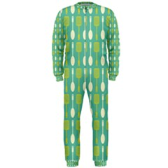 Spatula Spoon Pattern Onepiece Jumpsuit (men)  by creativemom
