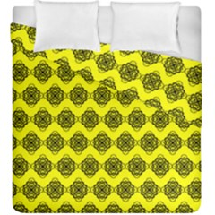 Abstract Knot Geometric Tile Pattern Duvet Cover (king Size)
