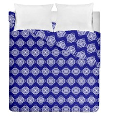 Abstract Knot Geometric Tile Pattern Duvet Cover (Full/Queen Size)