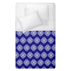 Abstract Knot Geometric Tile Pattern Duvet Cover Single Side (Single Size)