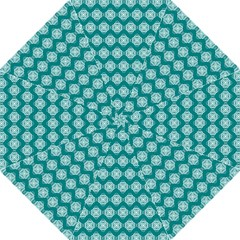 Abstract Knot Geometric Tile Pattern Hook Handle Umbrellas (large) by creativemom