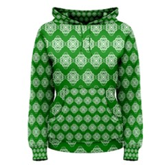 Abstract Knot Geometric Tile Pattern Women s Pullover Hoodies by creativemom