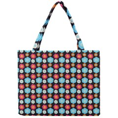 Colorful Floral Pattern Tiny Tote Bags by creativemom