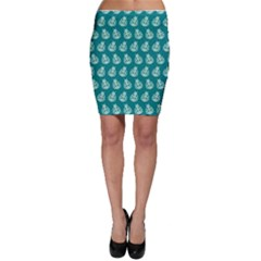 Ladybug Vector Geometric Tile Pattern Bodycon Skirts by creativemom