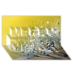 Dandelion 2015 0713 Merry Xmas 3d Greeting Card (8x4)  by JAMFoto