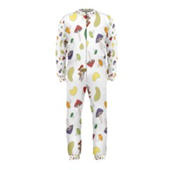 Mushrooms Pattern Onepiece Jumpsuit (kids) by Famous