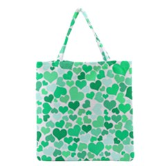 Heart 2014 0915 Grocery Tote Bags