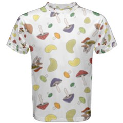 Mushrooms 002b Men s Cotton Tees