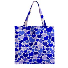 Heart 2014 0923 Zipper Grocery Tote Bags