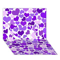 Heart 2014 0927 I Love You 3d Greeting Card (7x5)  by JAMFoto