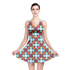 Cute Pattern Gifts Reversible Skater Dresses