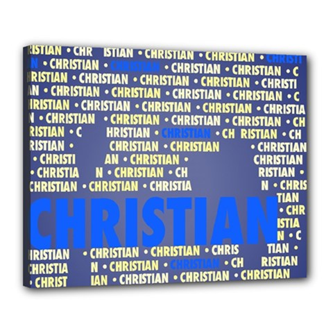 Christian Canvas 20  X 16