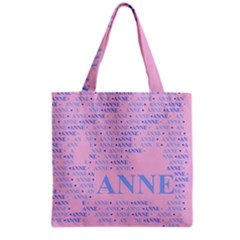 Anne Grocery Tote Bags by MoreColorsinLife