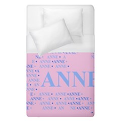 Anne Duvet Cover Single Side (single Size) by MoreColorsinLife