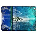 Clef With Water Splash And Floral Elements iPad Air Hardshell Cases View1