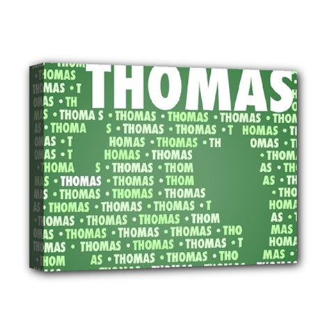 Thomas Deluxe Canvas 16  X 12   by MoreColorsinLife