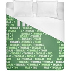 Thomas Duvet Cover Single Side (double Size) by MoreColorsinLife