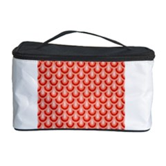 Awesome Retro Pattern Red Cosmetic Storage Cases