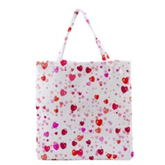 Heart 2014 0601 Grocery Tote Bags