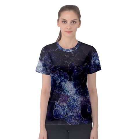 Space Like No 3 Women s Sport Mesh Tees by timelessartoncanvas