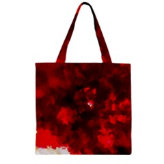 Space Like No 4 Zipper Grocery Tote Bags by timelessartoncanvas