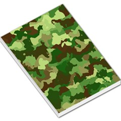 Camouflage Green Large Memo Pads