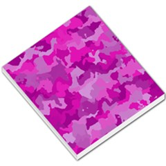 Camouflage Hot Pink Small Memo Pads by MoreColorsinLife