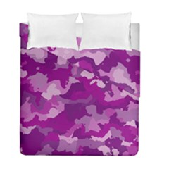 Camouflage Purple Duvet Cover (twin Size)