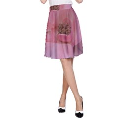 Pink Rose A-Line Skirts