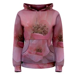 Pink Rose Women s Pullover Hoodies