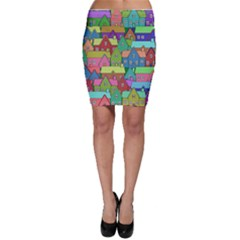 House 001 Bodycon Skirts