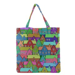House 001 Grocery Tote Bags