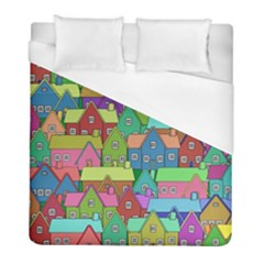 House 001 Duvet Cover Single Side (Twin Size)