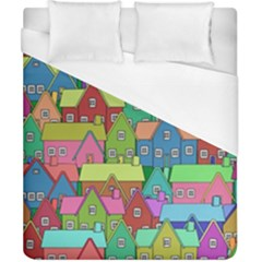 House 001 Duvet Cover Single Side (Double Size)