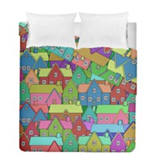House 001 Duvet Cover (Twin Size)