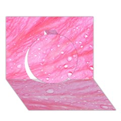 Pink Circle 3d Greeting Card (7x5)  by timelessartoncanvas