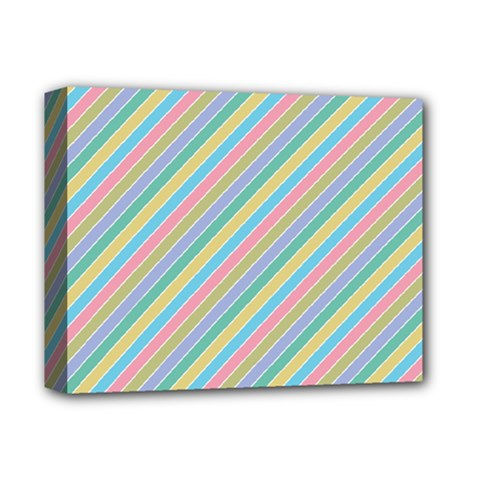 Stripes 2015 0401 Deluxe Canvas 14  X 11  by JAMFoto