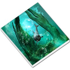 Wonderful Dolphin Small Memo Pads by FantasyWorld7