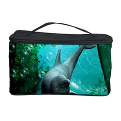 Wonderful Dolphin Cosmetic Storage Cases by FantasyWorld7