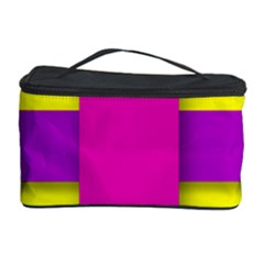 Florescent Pink Purple Abstract  Cosmetic Storage Cases