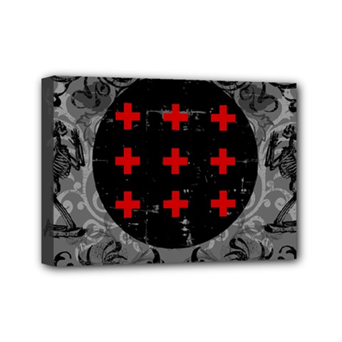 Occult Theme #2 Mini Canvas 7  X 5  by Lab80
