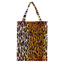 Cheetah Abstract Pattern  Classic Tote Bags by OCDesignss