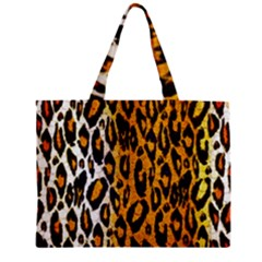 Cheetah Abstract Pattern  Zipper Tiny Tote Bags by OCDesignss