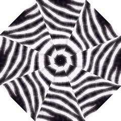 Black&white Zebra Abstract Pattern  Folding Umbrellas by OCDesignss