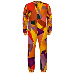 Geo Fun 8 Colorful Onepiece Jumpsuit (men)  by MoreColorsinLife